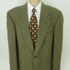 44 R Hugo Boss Beige Brown Tweed Wool Cashmere Mens 2Bt Jacket Sport Coat Blazer