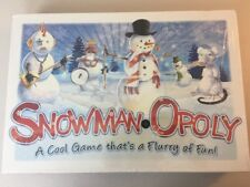Snowman Opoly Board Game by Late For the Sky New