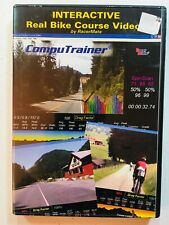 RacerMate CompuTrainer Real Bike Course Video IRONMAN Coeur d'Alene PC Software