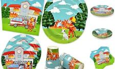 Fire Truck Firefighter Party Supplies Tableware Set 24 9