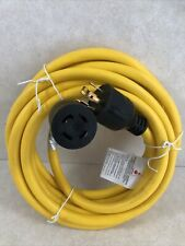 Generator Extension Cord 20ft 14 Prong Power Cable 10 Gauge 30 Amp Adapter Plug