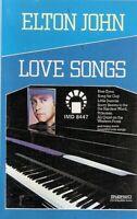 Elton John .Love Songs. Import Cassette Tape