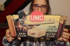 Vintage 1930's Remington UMC Nitro Club Shotgun Hunting Gun Gas Oil 12