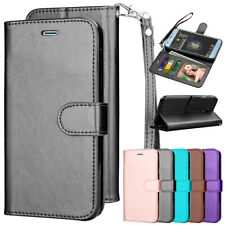 For Samsung Galaxy Flip Leather Magnetic Wallet Case Cover with Card Slot Holder