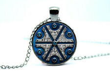 Slavic Thundermarks of Perun - Photo Glass Dome Necklace Pendant Gift