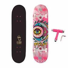 Standard Skateboard, Complete Skateboard 31''x 8'', 7 Layer 1.Pretty in Pink