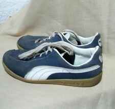 alte Puma Sneakers echt Vintage Blue Star Orig.70er 80er Jahre Gr.4 Sportschuhe