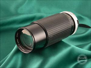 Olympus OM Mount Hoya HMC 100-300mm f5.6 Zoom Lens  - Excellent  - 1187