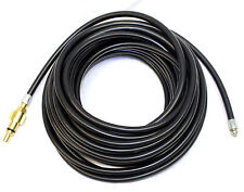 HOMEBASE 30m Flexible Drain Hose - Retrojet Nozzle for Pressure Washer Cleaning