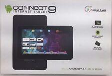 visual-vl-109-8gb-blk-Tierra conexión 9-inch Tablet con 8gb Memoria - Negro