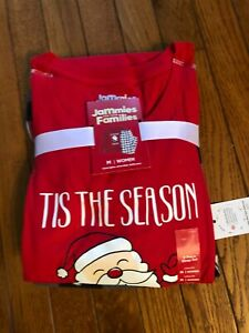 Jammies for your Families Womens Christmas Pajamas size Medium-NEW WITH TAGS