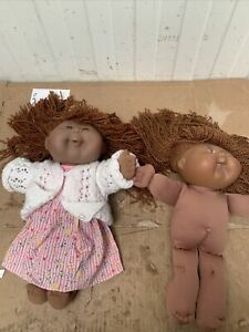 2 X Vintage Cabbage Patch Dolls First Edition CK17 Mk7