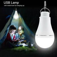 Outdoor Portable USB LED Light Bulb Dimmable Night Lamp for Camping Emergency