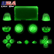 Glow in the Dark Buttons Set Thumbsticks Repair for Dualshock 4 PS4 Controller