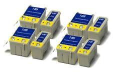4x Black & 4x Colour Compatible (non-OEM) Ink Cartridges to replace T007 & T009