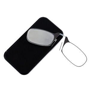 Reading Glasses Nose Clip Flexible Thin Optics Presbyopic +1.0 +1.5 +2.0 +2.5