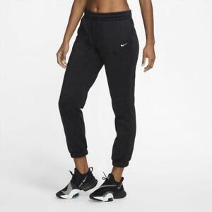 Nike Therma All Time Taper Pants Size M Womens Sweatpants Black CU5703 011