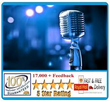 SING, VOICE TRAINING,PRACTICE  PROFESSIONAL SINGING VOCAL DOWNLOAD