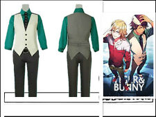 Tiger And Bunny Kotetsu T. Kaburagi with hat Cosplay Costume