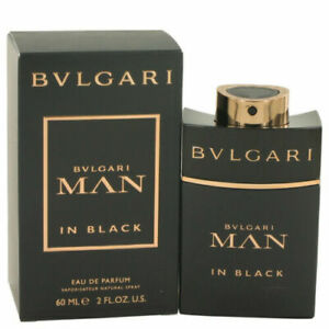 BVLGARI Man in Black 60ml EDP for Men Spray BRAND NEW Genuine Free Delivery