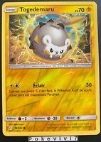 Carte Pokemon TOGEDEMARU 74/236 REVERSE Soleil et Lune 12 SL12 FR NEUF
