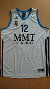 Camiseta baloncesto basketball jersey Nikola Mirotic Real Madrid ACB XL