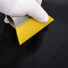 Yellow Turbo Squeegee Rubber Scraper Water Remover Window Tint Clean Tool