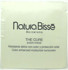 Natura Bisse The Cure Sheer Cream Sample 2 ml Each.Lot of 10 Samples. Brand New.