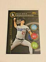 2020 Topps Baseball Topps Attax Booster - Walker Buehler - Los Angeles Dodgers