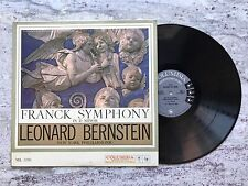 Leonard Bernstein Franck Symphony in D Minor NYP LP Record ML5391 Columbia
