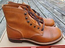 Red Wing Boots Munson Ranger, White Ash Settler, 8011, 8D, 2nd's, NIB, RARE