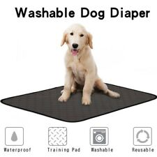 New listing Dog Cats Reusable Training Urine Pads Pad Floor Toilet Absorbent Mats Mat Gray S