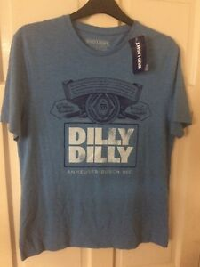 Bud light 'Dilly Dilly' T-Shirt BNWT Budweiser