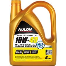 Nulon Fast Flowing Full Synthetic Car Engine Oil 10W-40 5 Litre