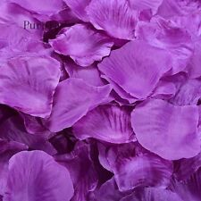 500PCs Party Supplies Table Petals Rose Flower Silk Wedding Decorations