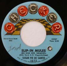 SUGAR PIE DESANTO 45 Slip-In Mules/Mr. & Mrs. CHECKER r&b ct1174