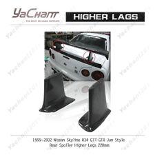 Carbon Wing Stand Fit For 99-02 Nissan R34 GTT GTR Jun Rear Spoiler Higher Leg