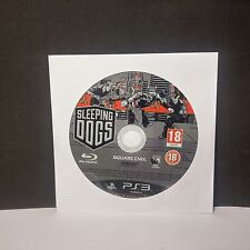 Sleeping Dogs (Sony PlayStation 3, 2012)(disc only)#9523