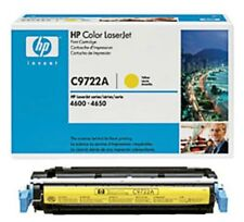 HP C9722A Yellow 4600 Genuine Toner Cartridge NEW    Blowout Priced!