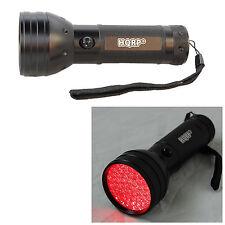 HQRP Linterna 51 LED 620 nm, luz roja, amplia área de cobertura para astronomía