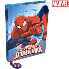 Diario Spiderman Marvel Standard 10 mesi laminato Agenda Scuola Bambini