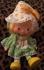 Vintage 1980''s Strawberry Shortcake Mint Tulip Tea Party Pleaser Doll