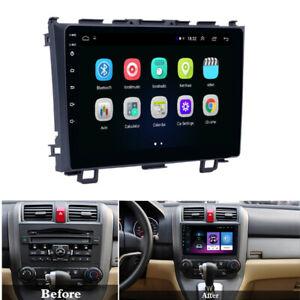 For 2006-11 HONDA CRV CR-V Stereo Radio Android 9.1 9'' HD 1+16GB Mirror Link
