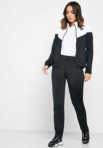 Nike 2pc Sportswear Black/White Women's Track Suit Size Small