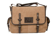 Buffalo David Bitton Mens Messenger Duffle Bag Gym Overnight Travel Carry On Bag