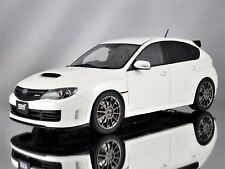 Otto Mobile Subaru Impreza R205 STI 2010 Pure White Pearl Resin Model 1:18