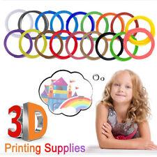 1/20pcs 3D Printer Pen Filament Refills PLA 1.75mm Glow Luminous 3D printing