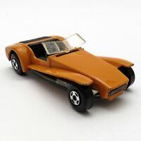 1971 LESNEY Toy Car LOTUS SUPER SEVEN No. 60 MATCHBOX SUPERFAST England ORANGE