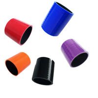 3 Ply Silicone Hose Straight Joiner Coupler All Sizes / Colours Available Pipe