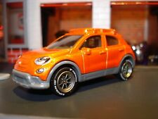 2016 FIAT 500 X 1/64 LIMITED EDITION MB CUSTOM WHEELS AND TIRES AWESOME DETAILS
